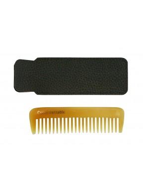 Peigne barbe corne