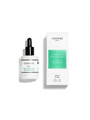 CODAGE SERUM N°2 Anti-Brillance et Imperfections 30ml