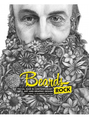 Livre Beards, facial hair in contemporary art and graphic design